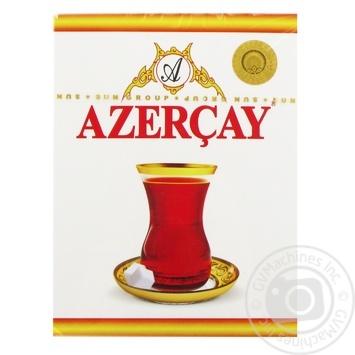 Black pekoe tea Azercay Extra medium leaf with bergamot flavor 100g - buy, prices for MegaMarket - image 1