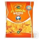 Чипсы El Sabor Начос со вкусом барбекю 100г