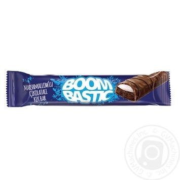 Кекс Boombastic с какао и маршмеллоу в молочном шоколаде 40г