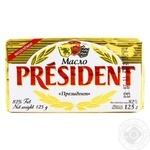 Масло Президент кисловершкове 82% 125г