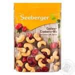 Seeberger Cashew And Cranberry Mix 150g