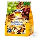 Асорті фруктово-горіхове Santa Vita Гармонія 200г - купити, ціни на Ашан - фото 1
