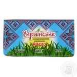 Масло сладкосливочное Украинское Крестьянское 73% 200г