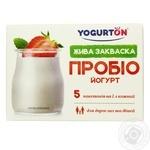 Закваска сухая бактериальная Yogurton Пробио йогурт 5*1г