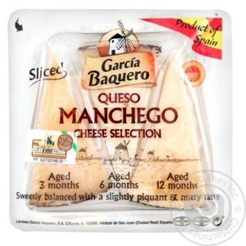Carcia Baquero Manchego cheese collection 55% 110g