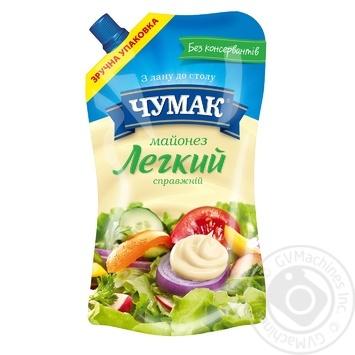 Chumak Original Light Mayonnaise 30% 350g - buy, prices for Novus - image 1