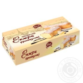 Пирожные БКК эклеры французские 330г - купить, цены на Фуршет - фото 1