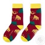 Шкарпетки унісекс Мамонт JustCover розмір 40-44