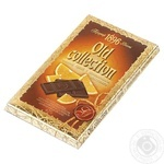 Chocolate black Old collection Old collection orange bars 200g