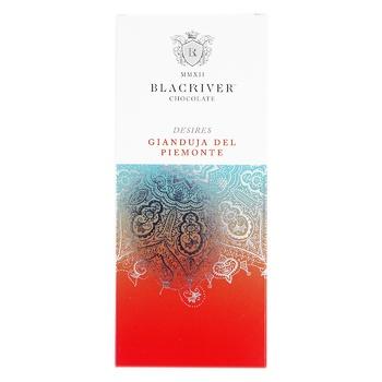 Blacriver Gianjuda del Piemonte with nuts milok chocolate 100g