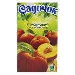 Сок Садочок персиковый 0,5л