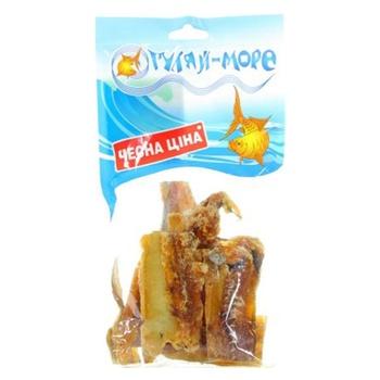 Путасу янтарная Гуляй море солено-сушеная кусочки 100г