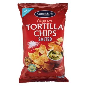 Santa Maria Tortilla Chips corn salted 185g