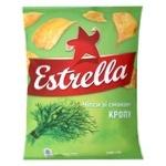 Чіпси Estrella зі смаком кропу 125г