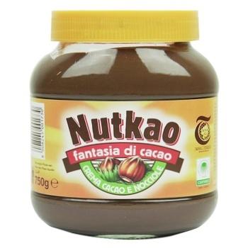 Паста ореховая Nutkao с какао 750г