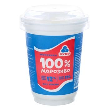 Морозиво Рудь 100% морозиво 120г - купити, ціни на Novus - фото 1