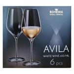 Набор бокалов Bohemia Avila для белого вина 6шт 430мл