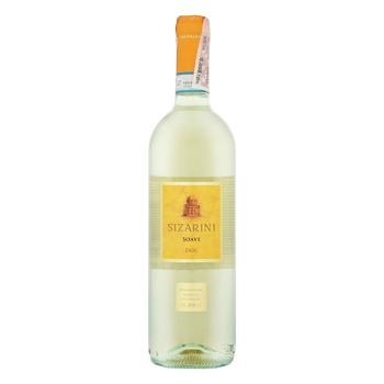 Вино Sizarini Soave DOC біле сухе 11,5% 0,75л