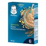 Каша Gerber безмолочная мультизлаковая c 6 для детей с 6 месяцев 200г