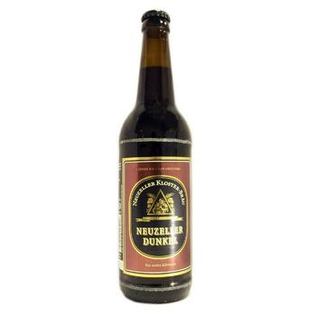 Пиво Kloster-Brau Neuzeller Dunkel темное 4,9% 0,5л