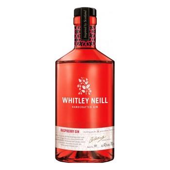 Джин Whitley Neill Raspberry Малина 43% 0,7л - купити, ціни на CітіМаркет - фото 1