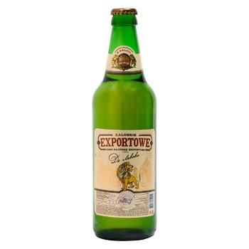Пиво Kalush Browar Exportowe до Львова 3,8% 0,5л - купить, цены на Фуршет - фото 1