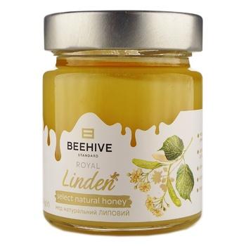 Мед Beehive липовий натуральний 250г - купити, ціни на Novus - фото 1