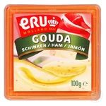 Сыр плавленый ERU Gouda с ветчиной 45% 100г