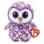 TY Beanie Boo's Purple Owl Soft Toy 15cm