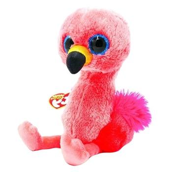 Игрушка мягкая TY Beanie Boo's Gilda фламинго 15см - купить, цены на Novus - фото 1