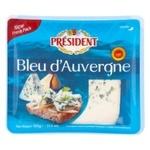 Сыр President Bleu d`Auvergne 50% 100г