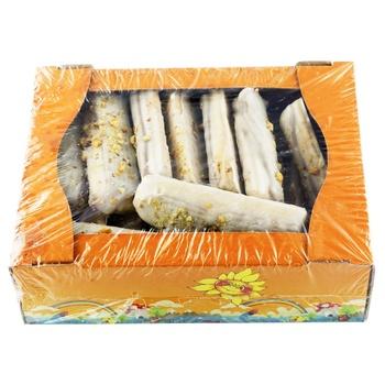 Печенье Рядинская Мадлен белый глазированный 600г