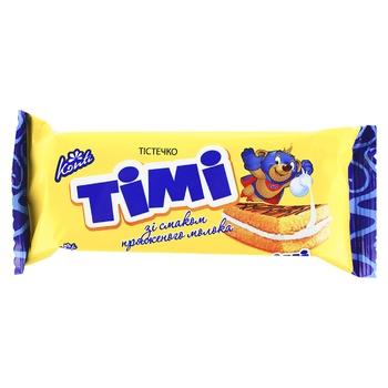 Бисквит Konti Timi вкус топленого молока 50г