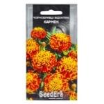 Семена Seedera Цветы Бархатцы Кармен 0.5г