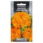 Семена Seedera Цветы Бархатцы Фантастик Оранжевый 0,5г