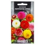 Seedera Pompon Mixture Changeable Dahlia Flower Seeds 0.5g