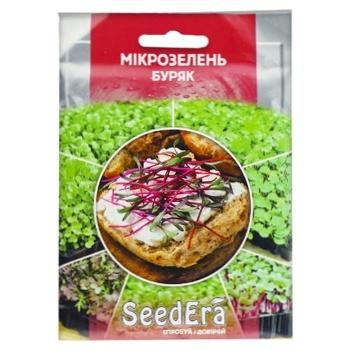 Насіння Seedera Мікрозелень Буряк 10г