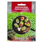 Семена Seedera Микрозелень Редис красный сангрия 10г