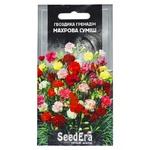 Семена Seedera Цветы Гвоздика садовая Гренадин махровая смесь двухлетняя 0,3г
