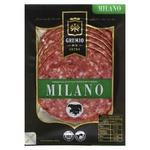 Ковбаса Gremio de la carne Мілано напівкопчена нарізана в/г 100г