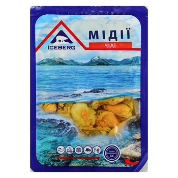 Iceberg Chili pickled in oil mussels 150g - buy, prices for Auchan - photo 1