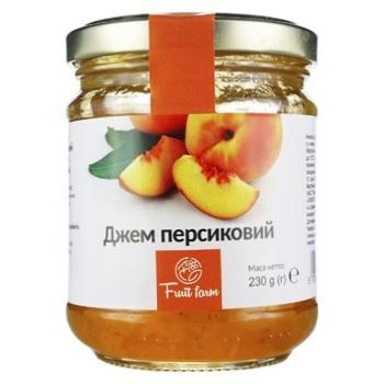 Fruit Farm Peach Jam 230g - buy, prices for Novus - photo 1