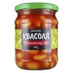 Квасоля Novus Ніжна в томатному соусі 460г