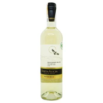 Вино Santa Alicia Reserva Sauvignon Blanc Valle del Maipo біле сухе 12,5% 0,75л
