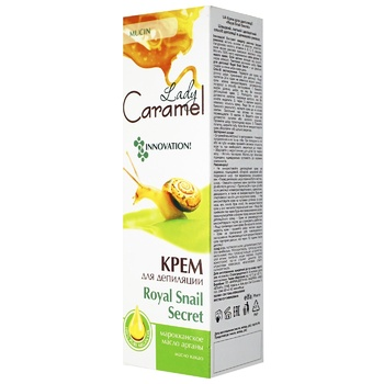 Крем для депиляции Lady Caramel Royal Snail Secret 100мл
