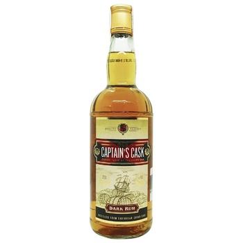 Ром Old Capitain's Cask Dark 37,5% 0,7л