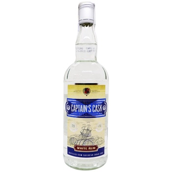 Ром Old Capitain's Cask White 37,5% 0,7л
