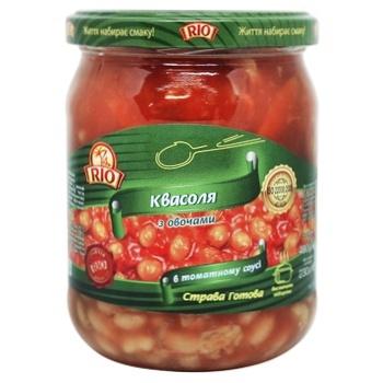 Фасоль Rio С овощами в томатном соусе 480г - купить, цены на Novus - фото 1