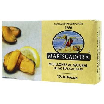 Mariscadora In Oil Mussles 125ml
