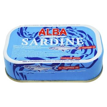 Сардини Alba Food в олії 125г